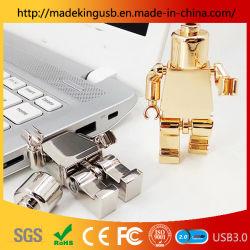 Neues Entwurfs-Roboter USB-Blitz-Laufwerk-Hochgeschwindigkeitsfeder-Laufwerk