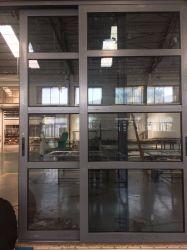 Китай продукты/поставщиками. Алюминиевый сплав вход из закаленного стекла боковой сдвижной двери на вилле/дома и здания