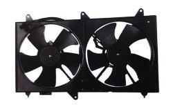 precio de fábrica 12V 24V el condensador Ventilador Axial de refrigeración para autos