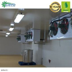 Ventilador de aves de capoeira Galinha Natural trata a pé no frigorífico com congelador para soprar Venda Malásia Salas Frias Guangzhou