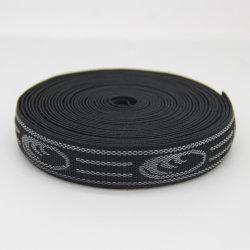 25mm R antiglisse 100 % polyester Jacquard tissés/ sangle élastique