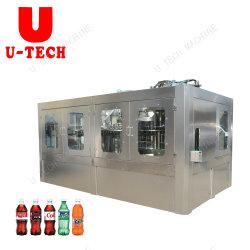 Caixa de garrafa de vidro podem cerveja/Bebidas Carbonatadas máquina de enchimento/Completa linha de produção