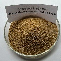 Factory Veterinary 5% Maduramycine ammonium + 12.5% Nicarbazine Premix