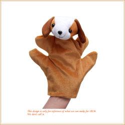 Weiche schöne Tier Hand Puppet Plüsch Hund Puppet OEM