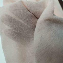 100%полиэстер материал и плетеных техника Slub шифон ткань