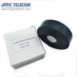 130c весьма Conformable Rubber-Resin клейкой ленты черный электрические ленты