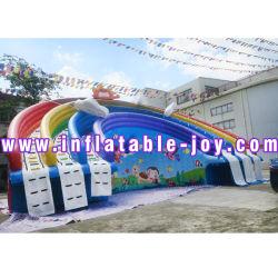 Wasser-Park-aufblasbare Wasser-Plättchen-/Inflatable-Wasser-Spiel-Spielwaren für Wasser-Park