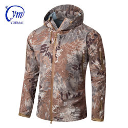Los hombres Hardshell táctico militar de camuflaje chaqueta impermeable
