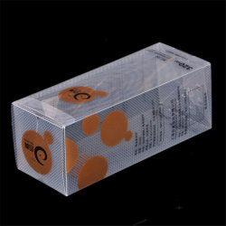 De in het groot Duidelijke Berijpte Plastic Kosmetische doos PP/PET/PVC van de Douane (verpakkingsdoos)