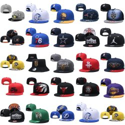 Commerce de gros de Hockey Baseball Basketball Football Snapback réglable Hat Cap