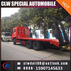 Clw 6*4 camiones y remolques de plataforma plana de China para la venta caliente