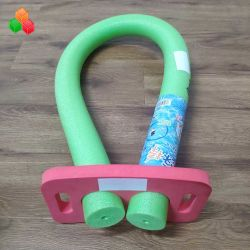 Usine directement la vente de mousse colorée piscine flottante de nouilles creux EPE solide + mousse EVA Nouilles de natation pour enfants / adulte