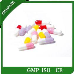 Personalizar/impresión/color/Halal/vacío/borrar/Vegan y verdura/HPMC/Pullulan cápsulas
