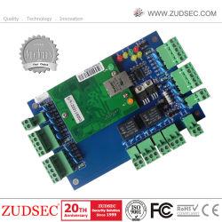 Sdk libre de huellas dactilares de TCP/IP de la Junta de Control de acceso Panel del controlador de acceso con el cuadro de Proteger de Energía y batería