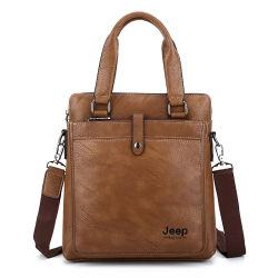 حقيبة جلدية أنيقة لرجال الأعمال للرجل
