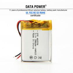 Wiederaufladbarer Lithium-Ionen-Polymer-Akku DTP 402530 3,7V 300mAh