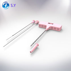 A punção de medula óssea agulha aspirativa por agulha de biopsia
