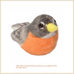 مخصص مصنوعة من الطائر الرولي-بولي الصغيرة لعبة الحيوانات الجميلة محشوة الألعاب