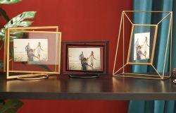 Nouveaux produits Accueil Décoration Cadre Photo en métal du châssis de l'art mural