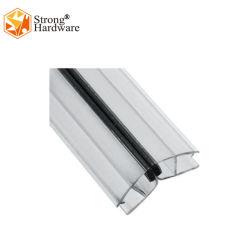 Striscia magnetica blu-chiaro della guarnizione del PVC del portello dell'acquazzone della stanza da bagno per il portello di vetro