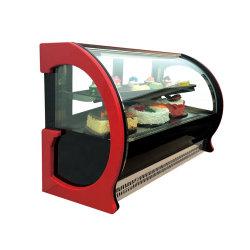 Governo di vetro di raffreddamento del frigorifero della visualizzazione della vetrina della torta di 1200mm