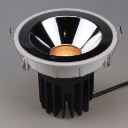 Una buena disipación de calor LED Empotrables de techo LED Anti-Dazzle luz abajo