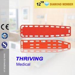 Системная плата для позвоночника PE пластиковые машины скорой помощи носилки позвоночника (ПОСЛЕ ПОРОГА-1A6)