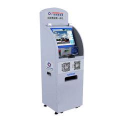 Двойной дисплей с сенсорным экраном ATM цена лотерейных билетов печать киоск самообслуживания для банковских торговые автоматы по шине CAN машины для выставления счета