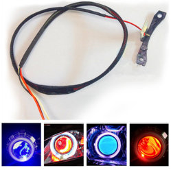 Occhi diabolici LED RGB caldi
