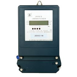 Commerce de gros de l'énergie numérique personnalisé compteur Rail DIN avec écran LCD
