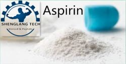 99,6% de pureté pharmaceutique poudre brute de l'aspirine