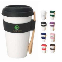ふた型が付いているカスタムプラスチックコーヒーカップ
