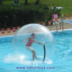 Paseo en globo de agua de agua inflable juguete caminar Zorbing Bola (WB-01)