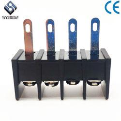 Черный 25h 7,62 мм 5 контактов печатной платы шинной системы барьер клеммные колодки Контактный разъем