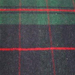 Plaid tissu de laine polaire en laine pour l'Habillement et vêtement tissu tissu textile