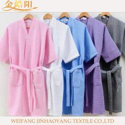 Noite beca para Mulheres Tamanho de pelúcia pijamas mulheres Sleepwear Definir roupão de alimentação para o hotel/hospital/roupa de casa