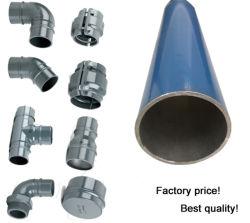 أفضل سعر عالي الجودة أنبوب الهواء المضغوط والأنابيب من الألومنيوم موصل ضاغط الهواء