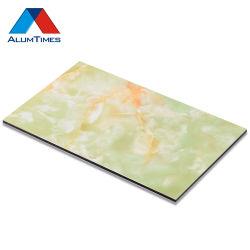 La compétitivité des prix de gros panneau composite en aluminium à revêtement de couleur