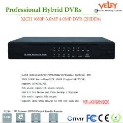 H. 264 de Mobiele Auto DVR van het Systeem van de Veiligheid DVR van het Toezicht van kabeltelevisie