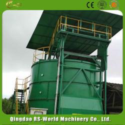 El estiércol animal de alta calidad de la torre de fermentación orgánica y equipos para la venta