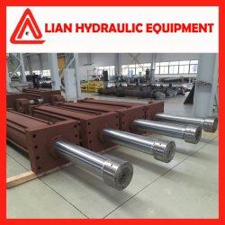 Type de média sur mesure de pression régulé vérin hydraulique pour projet d'ingénierie