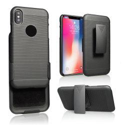 2018 Amazon Vente chaude disque PC Étui pour iPhone X, pour l'iPhone x cas Téléphone