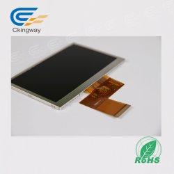 """4.3 Écran LCD graphique"""" 500 Cr avec RTP pour la commande industrielle"""