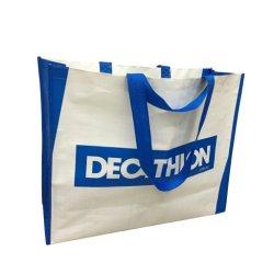 Grote Draagtas Poly Woven Bag Met Decathlon-Logo