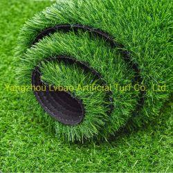 人工的な擬似芝生のホームヤードの商業草の庭の装飾の総合的な人工的な草を美化する耐久財