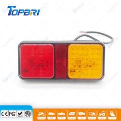 E-MARK IP67 Car прямоугольник светодиодный индикатор работы прицепа, задний фонарь