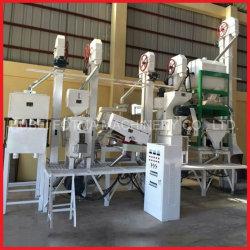 20 a 30 ton/día el arroz vaporizado, máquinas de molienda