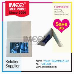 Capacidade do tamanho Imee Vídeo em Tela LCD electrónicos personalizados titular de fotos