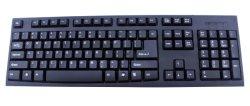 Anti-Staub Entwurfs-Tastatur der USB-Standardtastatur für Computer