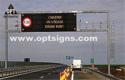 Informations sur le trafic routier signe électronique afficheurs à LED de plein air